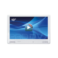 "ProDVX M110 10"" Integrated Video Display 10.2"" 800 x 480 Afficheurs sur pied - Blanc"