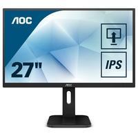 "AOC Pro-line Q27P1, 27"", 2560 x 1440 px, Wide Quad HD, LED TFT monitor - Zwart"