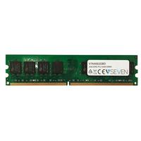 V7 2GB DDR2 PC2-6400 - 800Mhz, DIMM RAM-geheugen - Groen