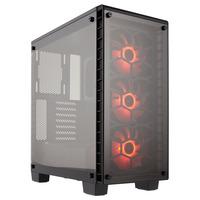 Corsair Crystal 460X RGB Boîtier d'ordinateur - Noir
