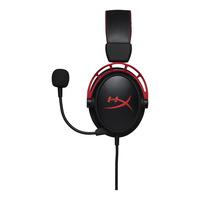 HyperX Cloud Alpha Headset - Zwart,Rood