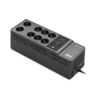 APC Back-UPS 650VA 230V 1 USB charging port - (Offline-) USV Onduleur - Noir