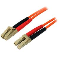 StarTech.com Câble patch à fibre optique duplex 50/125 multimode 2 m LC - LC Câble de fibre optique