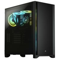 Corsair 4000D Boîtier d'ordinateur - Noir