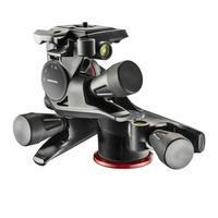 Manfrotto XPRO Geared 3 Way Head w/ Adapto Body Tête de trépied - Noir