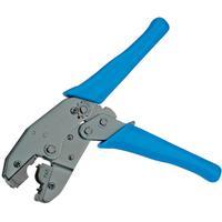 Value Krimptang voor HiRose RJ-45 connectoren TM21 en TM31 Krimp-, knip- en striptang voor kabels - Zwart, Blauw