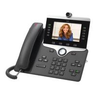 Cisco IP PHONE 8845 Téléphone IP - Charbon de bois