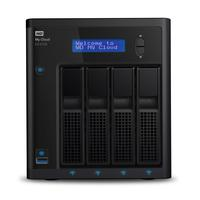 Western Digital My Cloud EX4100 NAS - Zwart