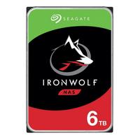 "Seagate ST6000VN001 IronWolf, 3.5"", 6TB, SATA, Retail pack Interne harde schijf"