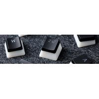HyperX HXS-KBKC3 - QWERTY Toetsenbord accessoire - Zwart, Doorschijnend, Wit
