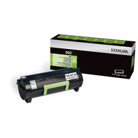 Lexmark 502 Toner  - Zwart