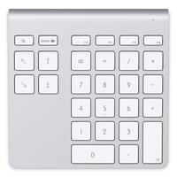 Belkin Pavé Numérique Sans Fil Bluetooth - Aluminium, Blanc