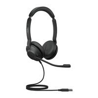 Jabra Evolve2 30, USB-A MS Teams Stereo Headset - Zwart
