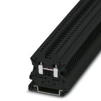 Phoenix Contact Blocs de jonction simple - UT 2,5 BK Borniers électriques - Noir