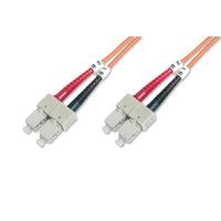 ASSMANN Electronic DK-2522-30 Câble de fibre optique - Orange
