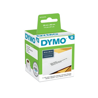 DYMO LW - Standard Address Labels - 28 x 89 mm - S0722370 Etiket - Wit