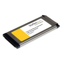 StarTech.com 1-poorts verzonken gemonteerde ExpressCard SuperSpeed USB 3.0 kaartadapter met .....