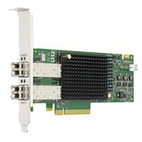 Broadcom PCIe 3.0 x8 1600Mb/s, 2 Port Carte de réseaux - Noir,Vert,Gris