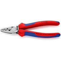 Knipex Krimptangen voor adereindhulzen Krimp-, knip- en striptang voor kabels