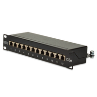 "Digitus 10"" CAT 5e patch panel Patchpaneel"