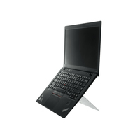 R-Go Tools R-Go Riser Attachable Laptopstandaard, verstelbaar, wit Laptop steun