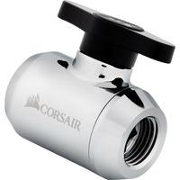 Corsair Hydro X Series XF Ball Valve — Chrome Accessoire de matériel de refroidissement
