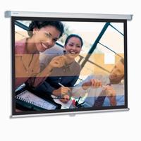 Projecta SlimScreen 138x180 Matte White S Projectiescherm