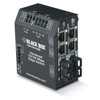 Black Box Edge Ethernet durci Switch - Noir