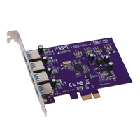 Sonnet PCI Express 2.0 x1, USB 3.0 x 4 Interfaceadapter