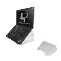 Newstar De NSNOTEBOOK300 is een acryl verhoger voor notebooks. Laptop steun - Transparant