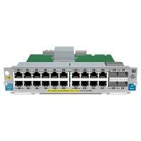 Hewlett Packard Enterprise 20-port Gig-T PoE+ / 2-port 10GbE SFP+ v2 Netwerkswitch module