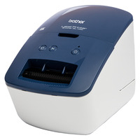 Brother QL-600B Imprimante d'étiquette - Noir