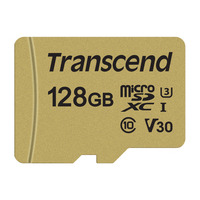 Transcend microSDXC/SDHC 500S Mémoire flash - Or