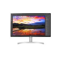 """LG 31.5"""", 3840 x 2160, 4K Ultra HD, IPS, 16:9, 350 cd/m², 1.07 billion, 5 ms Moniteur - Blanc"""