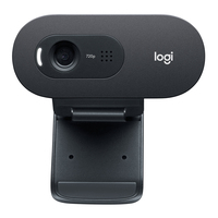 Logitech C505e Webcam - Noir