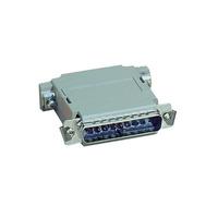 Black Box Null-Modem Adapter - Pinning A, DB25 Female/Female Adaptateur de câble - Gris