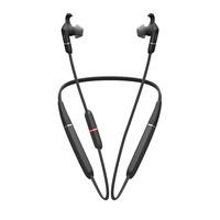 Jabra Evolve 65e MS & Link 370 Headset - Zwart
