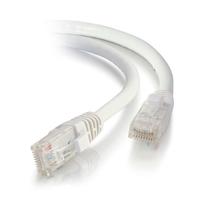 C2G Câble de raccordement réseau Cat5e avec gaine non blindé (UTP) de 1,5M - Blanc Câble de réseau