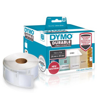 DYMO LW - LW Durable Labels - 25 x 25 mm - 1933083 Etiket - Wit