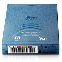 Hewlett Packard Enterprise custom gelabelde tapes SDLT II, 600 Gb, 2:1, 72 MB/sec, 220 g .....
