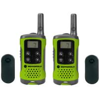 Motorola 2x T41 Radios 2x Belt Clips User Docs GSM