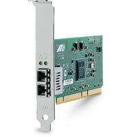 Allied Telesis 1000SX (LC) desktop fiber Gigabit Network Interface Card (PCI-X) Carte de réseaux