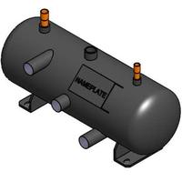 APC Flooded Receiver, 20L, 219mm diameter, 640mm length, PED w / heater - Zwart