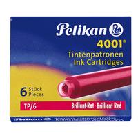 Pelikan TP/6 Pen-hervullingen - Rood