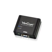 ATEN VGA/audio naar HDMI-converter Videoconverter - Zwart