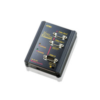 ATEN 2-Poorts VGA-splitser muurplaat (350MHz) Videosplitter - Zwart