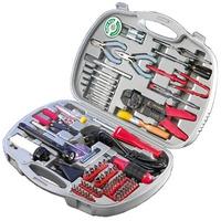 ROLINE Set d'outils support PC, 145 pièces Jeux de douilles et d'outils