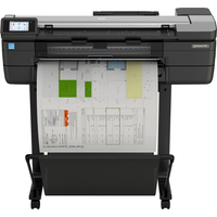 HP Designjet T830 24 Grootformaat printer - Cyaan, Magenta, Mat Zwart, Geel