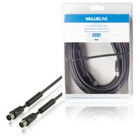Valueline VLSB40010B100 Câble coaxial - Noir