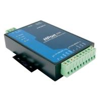 Moxa NPort 5232I-T, 2 x RS-422/485, -40 to 75°C, Optical Isolation Serveur série